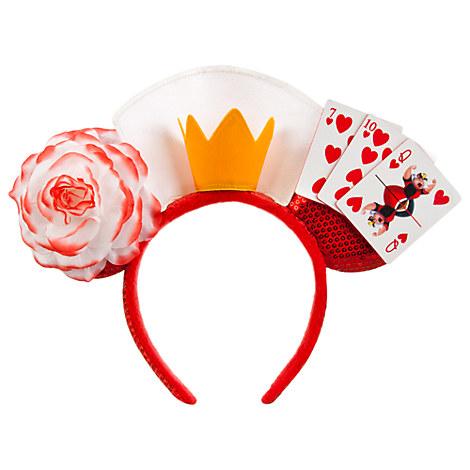 Queen of Hearts Ear Headband