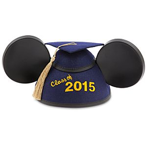 Mickey Mouse Graduation Ear Hat 2015