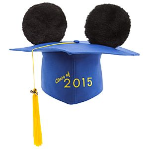 Mickey Mouse Ear Hat Graduation Cap for Adults - 2015