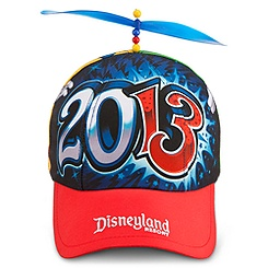 Sorcerer Mickey Mouse and Donald Duck Baseball Cap for Kids - Disneyland 2013