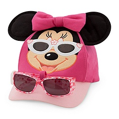 Minnie Mouse Hat and Sunglasses Set for Toddlers