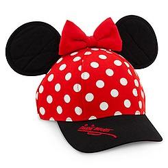 Minnie Mouse Baseball Cap for Girls - Disneyland