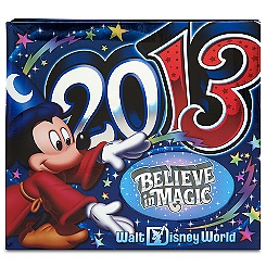 Sorcerer Mickey Mouse Photo Album - Walt Disney World 2013 - Medium