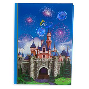 Sleeping Beauty Castle Light-Up Journal - Disneyland