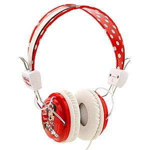 Minnie Mouse Headphones - Polka Dot