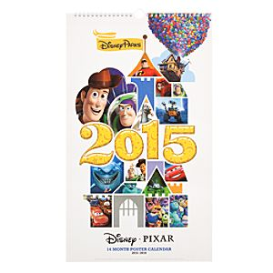 Disney/Pixar 2015 Poster Calendar - 14 Month
