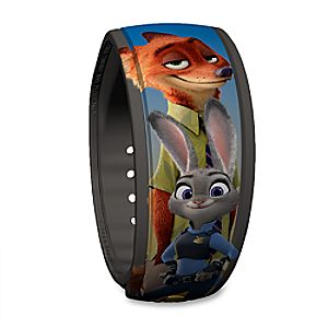 Judy Hopps and Nick Wilde Disney Parks MagicBand - Zootopia