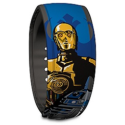R2-D2 and C3-P0 Disney Parks MagicBand - Star Wars
