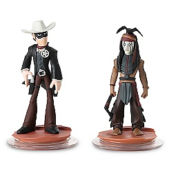 Disney Infinity Lone Ranger Play Set - Lone Ranger, Tonto, and Game Piece