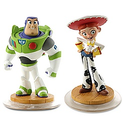 Disney Infinity Toy Story Play Set - Jessie, Buzz Lightyear, and Game Piece