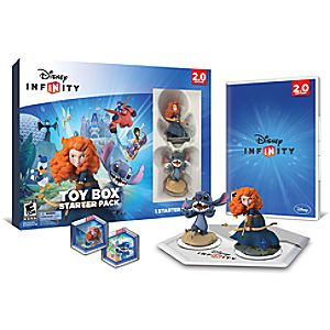 Disney Infinity: Toy Box Starter Pack for Nintendo Wii U (2.0 Edition)