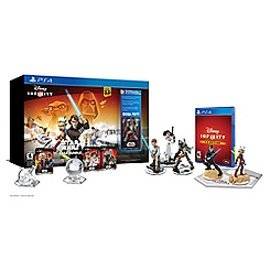 Disney Infinity: Star Wars Saga Starter Pack Bundle for PS4 (3.0 Edition)