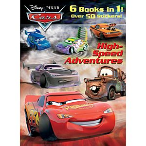 High-Speed Adventures - Cars Coloring Activity Book - Jumbo