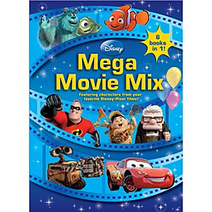 Disney Mega Movie Mix Coloring Book