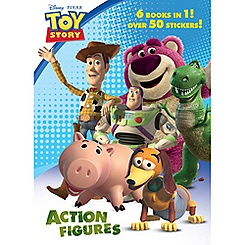 Toy Story 3 Action Figures Coloring Book