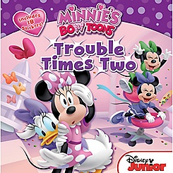 Minnie's Bow-Toons: Trouble Times Two Book