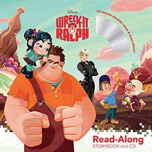 Wreck-It Ralph Read-Along Storybook and CD