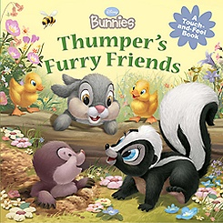 Thumper's Furry Friends Touch-and-Feel Book