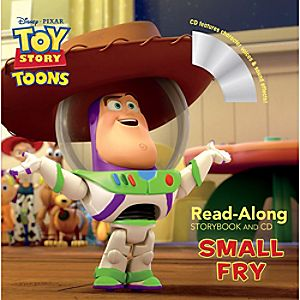 Toy Story Toons Read-Aloud Storybook and CD - Small Fry