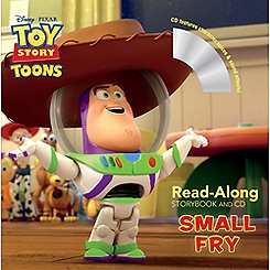 Toy Story Toons Read-Aloud Storybook and CD