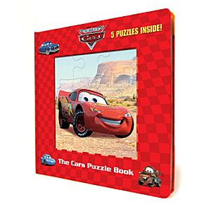 Cars Puzzle Book