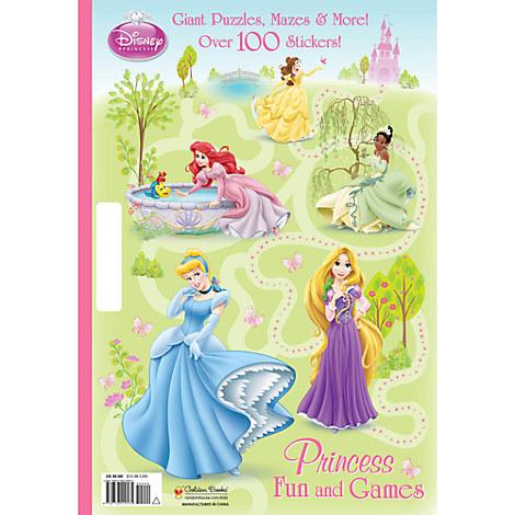 Princess Fun and Games  Activity Book - Disney Princess
