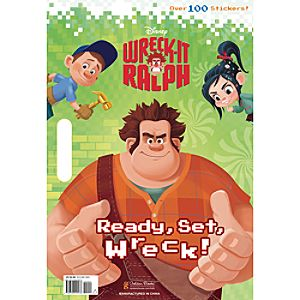 Wreck-It Ralph Coloring Book - Ready, Set, Wreck!