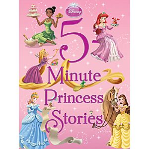 5-Minute Princess Stories Book - Disney Princess