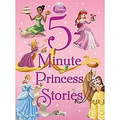 5-Minute Princess Stories Book - Disney Princess
