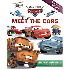 Meet the Cars Book - Cars 2