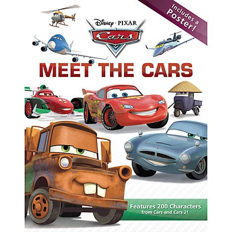 Meet the Cars Book - Cars 2