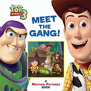 Toy Story 3 Meet the Gang Book