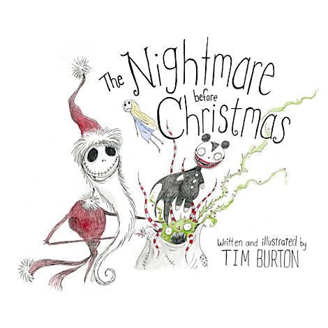 Nightmare Before Christmas Book | Books | Disney Store