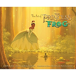 Art of the Princess and the Frog Book