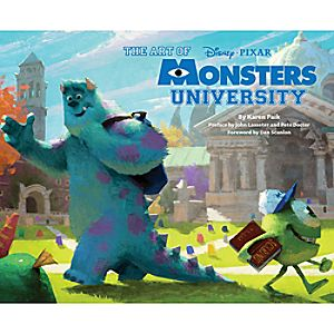 Art of Monsters University Book