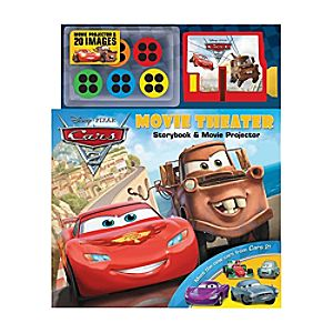 Disney Pixar Cars 2 Movie Theater: Storybook and Movie Projector
