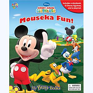 Mickey Mouse Clubhouse Mouseka Fun! - My Busy Book