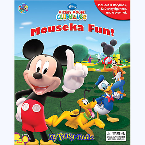 Mickey Mouse Clubhouse Mouseka Fun My Busy Book Books