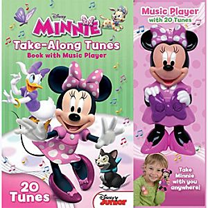 Minnie Mouse Bow-tique Take-Along Tunes: Book with Music Player