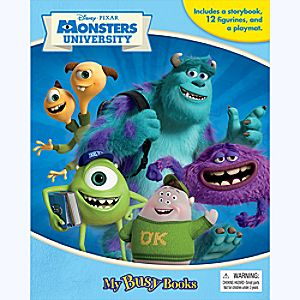 Monsters University My Busy Book