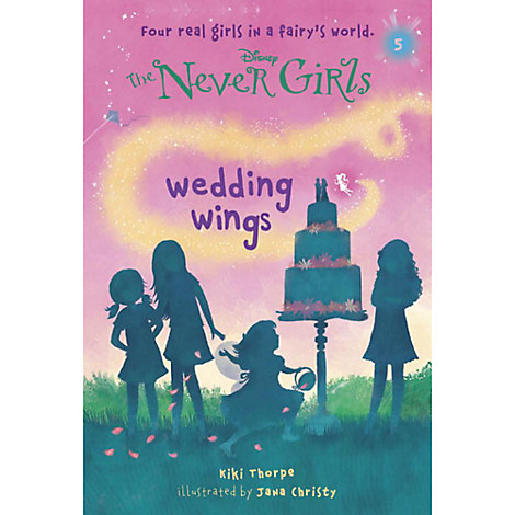 The Never Girls Book - ''Wedding Wings''