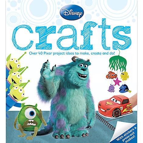 Disney Pixar Crafts Book