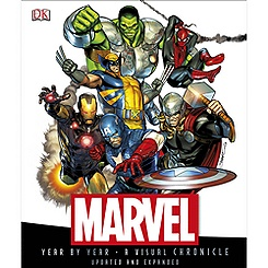 Marvel Year by Year: A Visual Chronicle Book