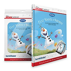 Olaf Wants a Birthday Book and Mobile App