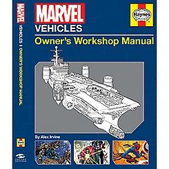 Marvel Vehicles Owners Workshop Manual Book