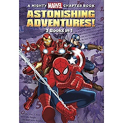 Marvel Astonishing Adventures Book