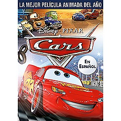 Cars DVD Spanish