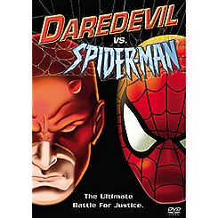 Daredevil vs. Spiderman DVD