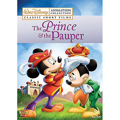 Disney Animation Collection Volume 3: The Prince and the Pauper DVD