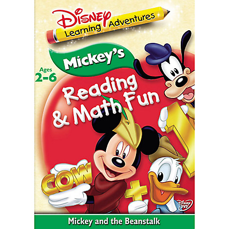 Disney Learning Adventures: Mickey and the Beanstalk DVD